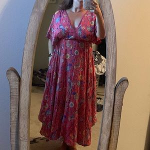 Spell Red lovebird gown in large